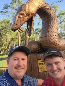 Snake Pit Selfie